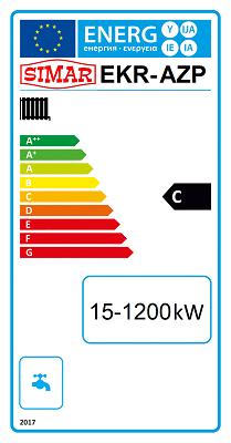 SIMAR EKR-AZP Kohlekessel Energielabel C